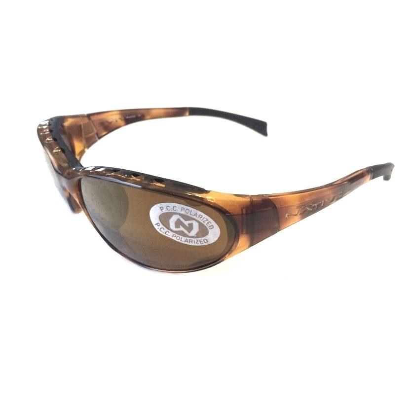Native Eyewear Attack Sunglasses Tobacco Bronze Polarized