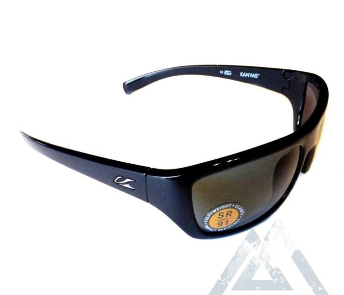 Kaenon Kanvas Sunglasses  kaenon kanvas black g12 gray sr 91 lens 020 01 g12np