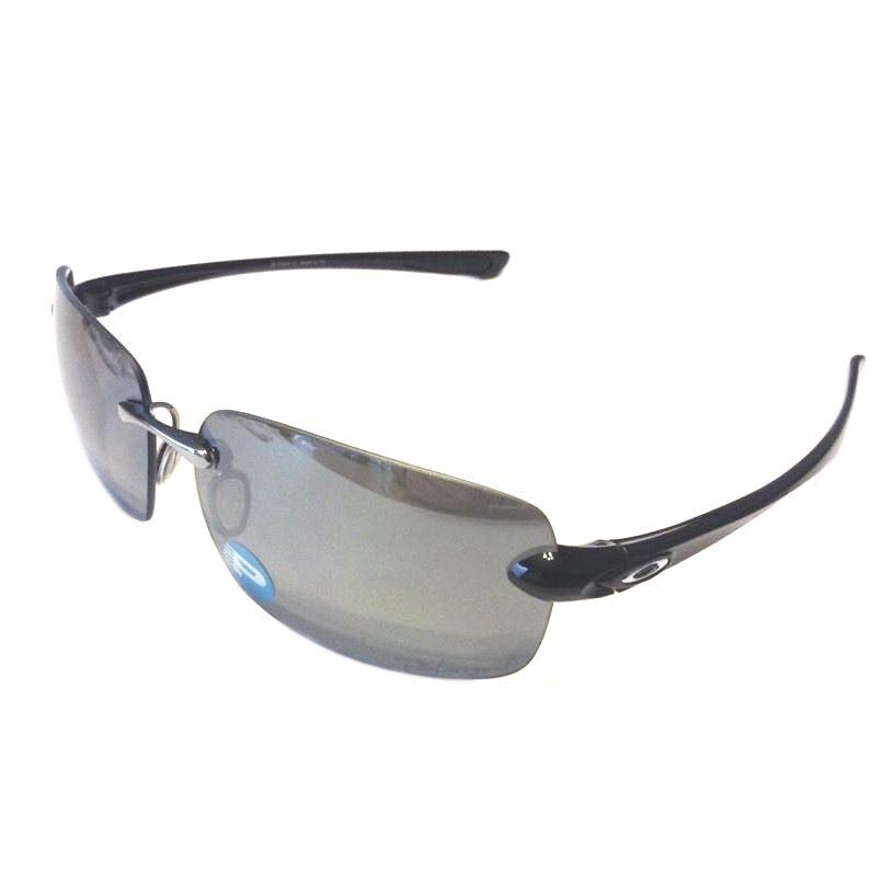 Oakley Quest Sunglasses POLARIZED - Polished Black - Black Iridium OO9201-01