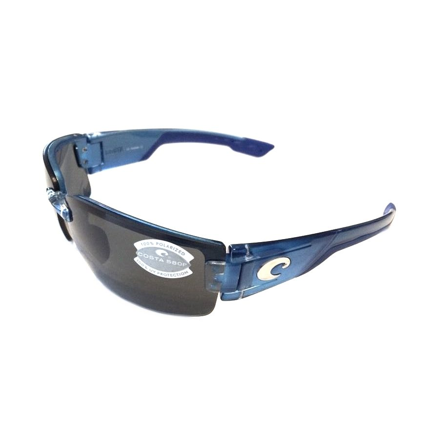 Costa Del Mar Rockport Sunglasses - POLARIZED - Sky Blue - Gray 580P