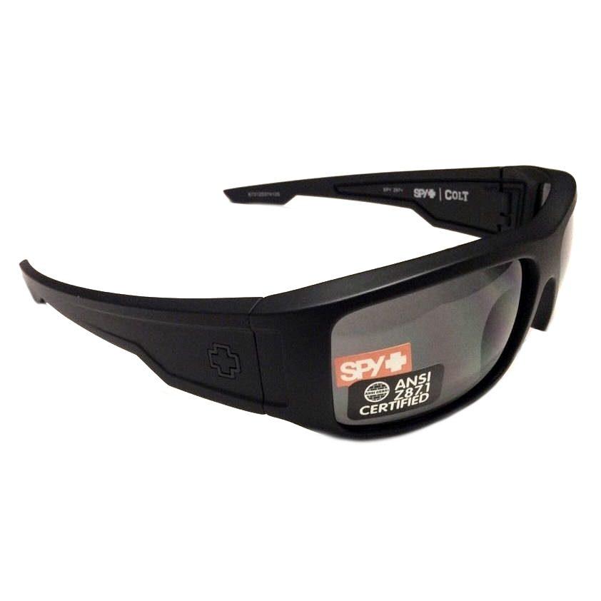ca01ea0047bb Spy Optic Colt Ansi Sunglasses - Z87.1 - Matte Black - Gray 673125374129