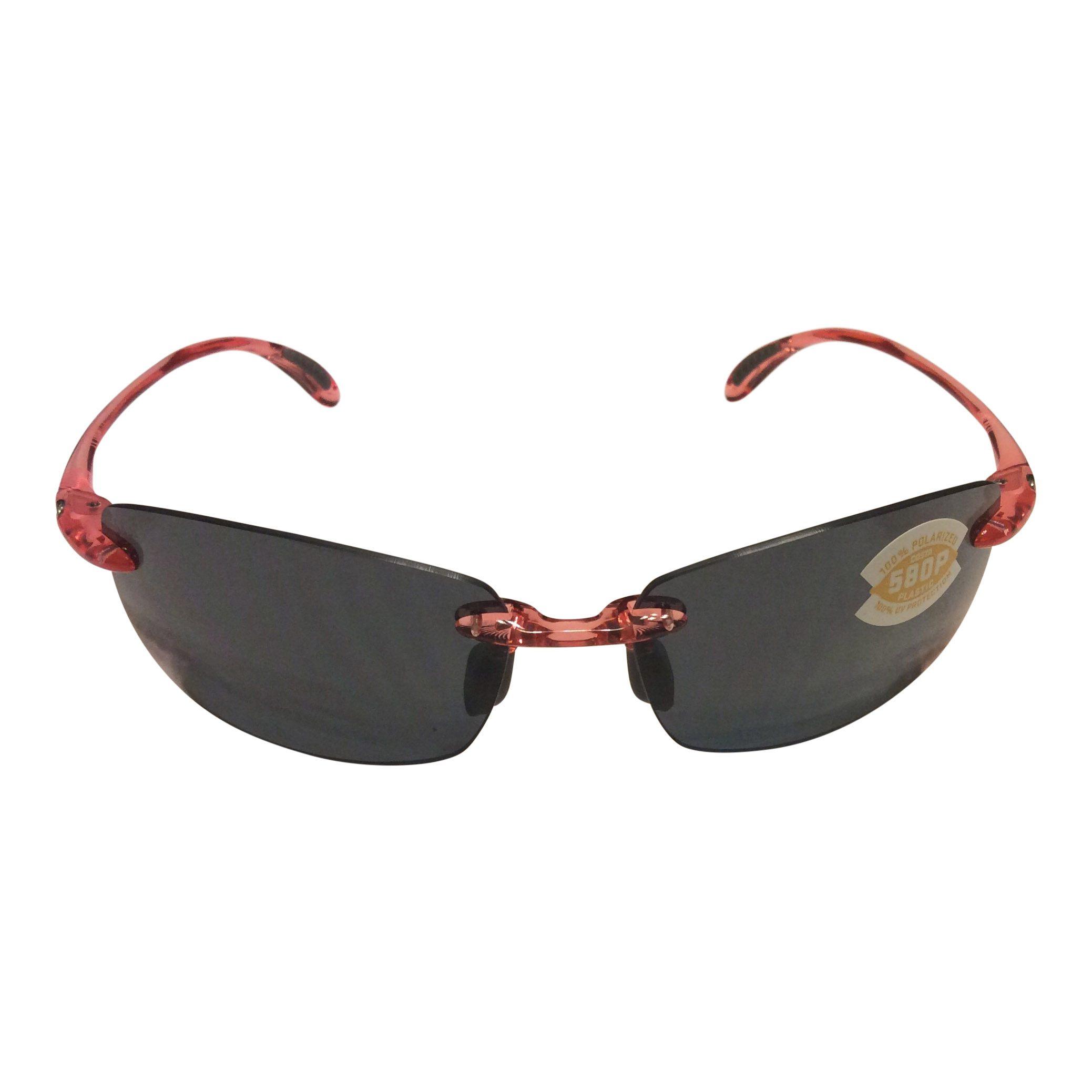 15fba87bb9d Costa Del Mar Ballast Sunglasses - Conch Shell Pink - POLARIZED Gray 580P  Lens