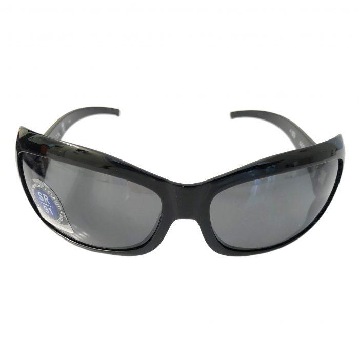 Kaenon Georgia Sunglasses - Gloss Black - G12 Grey POLARIZED 208-01-G12