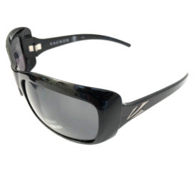 Kaenon Georgia Sunglasses - Gloss Black Frame - G12 Grey Polarized Lens 208-01-G12