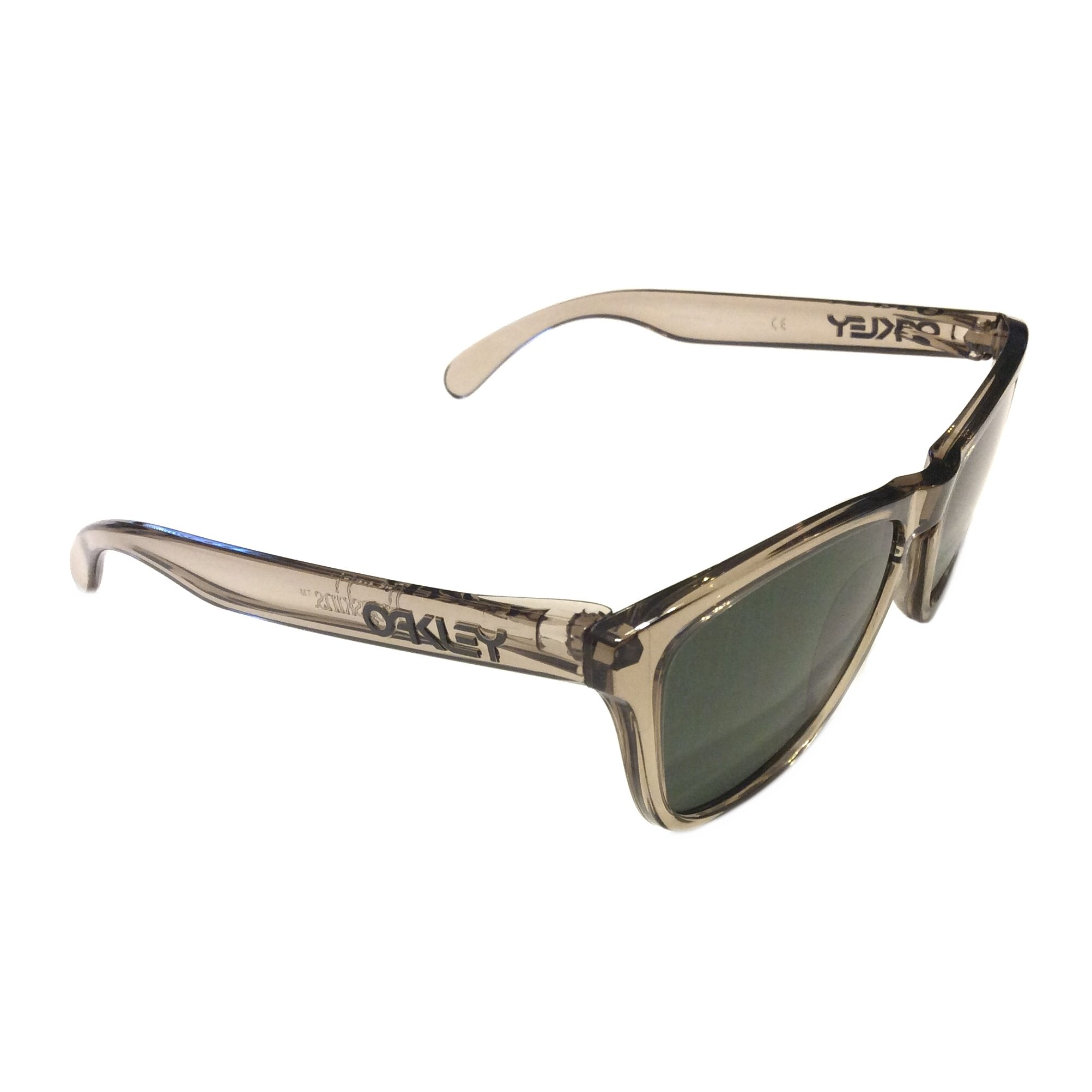 3fc90f5052 Oakley Frogskins Sunglasses - Sepia Ink Collection - Dark Grey - OO9013-03