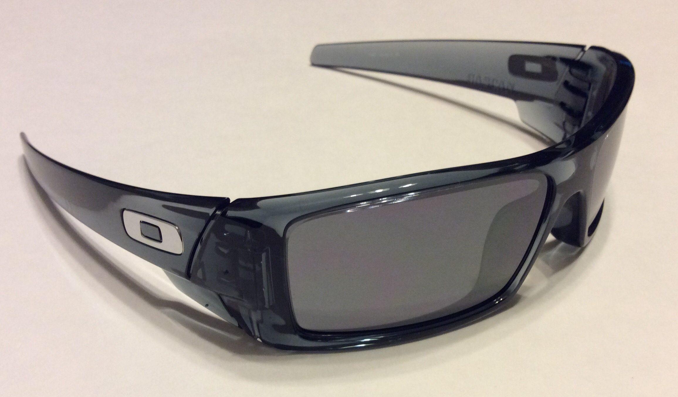 Oakley Gascan Black White Frame Black Lens