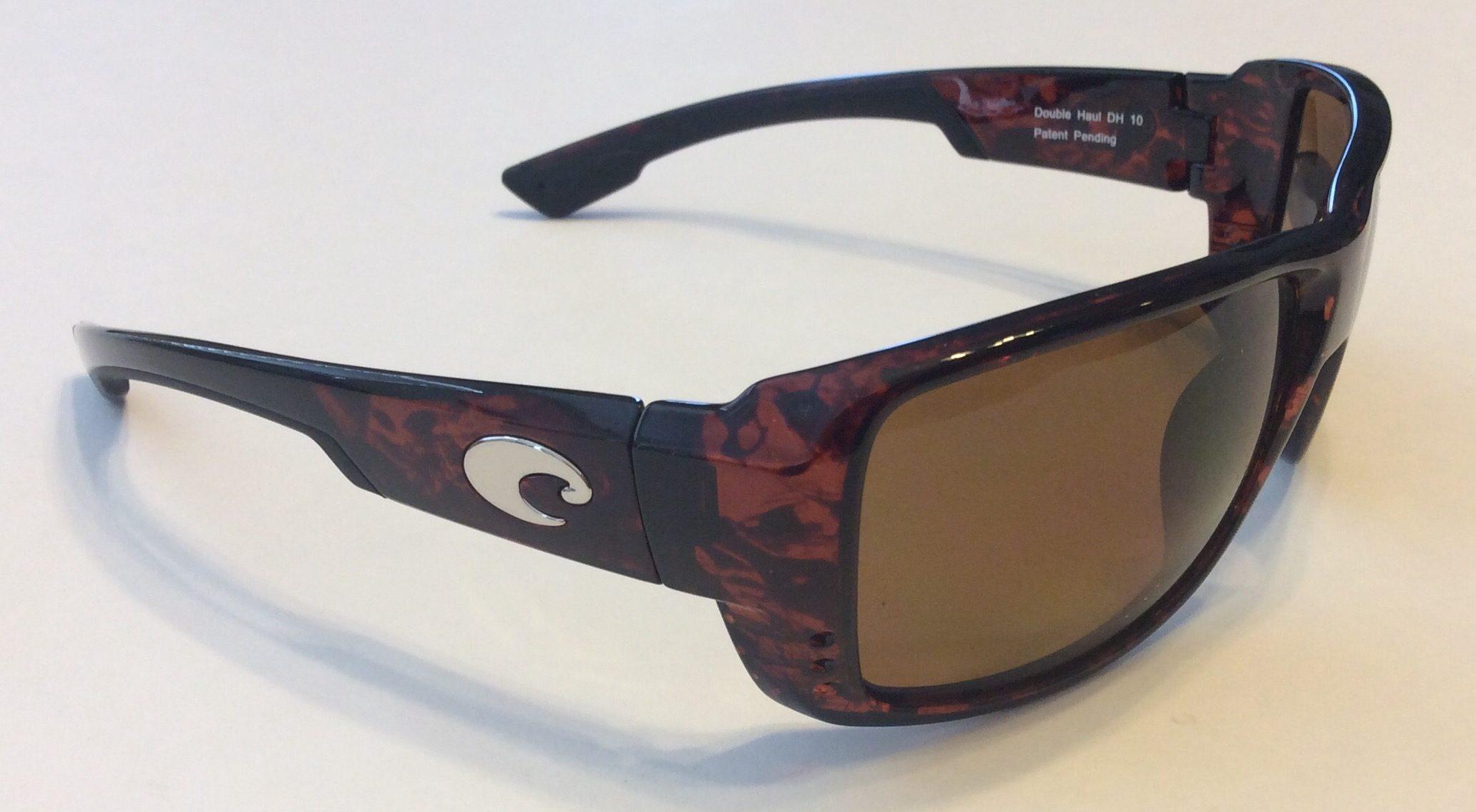 10eb3bb238a9 Costa Del Mar Double Haul Sunglasses - Tortoise - Dark Amber POLARIZED 400P