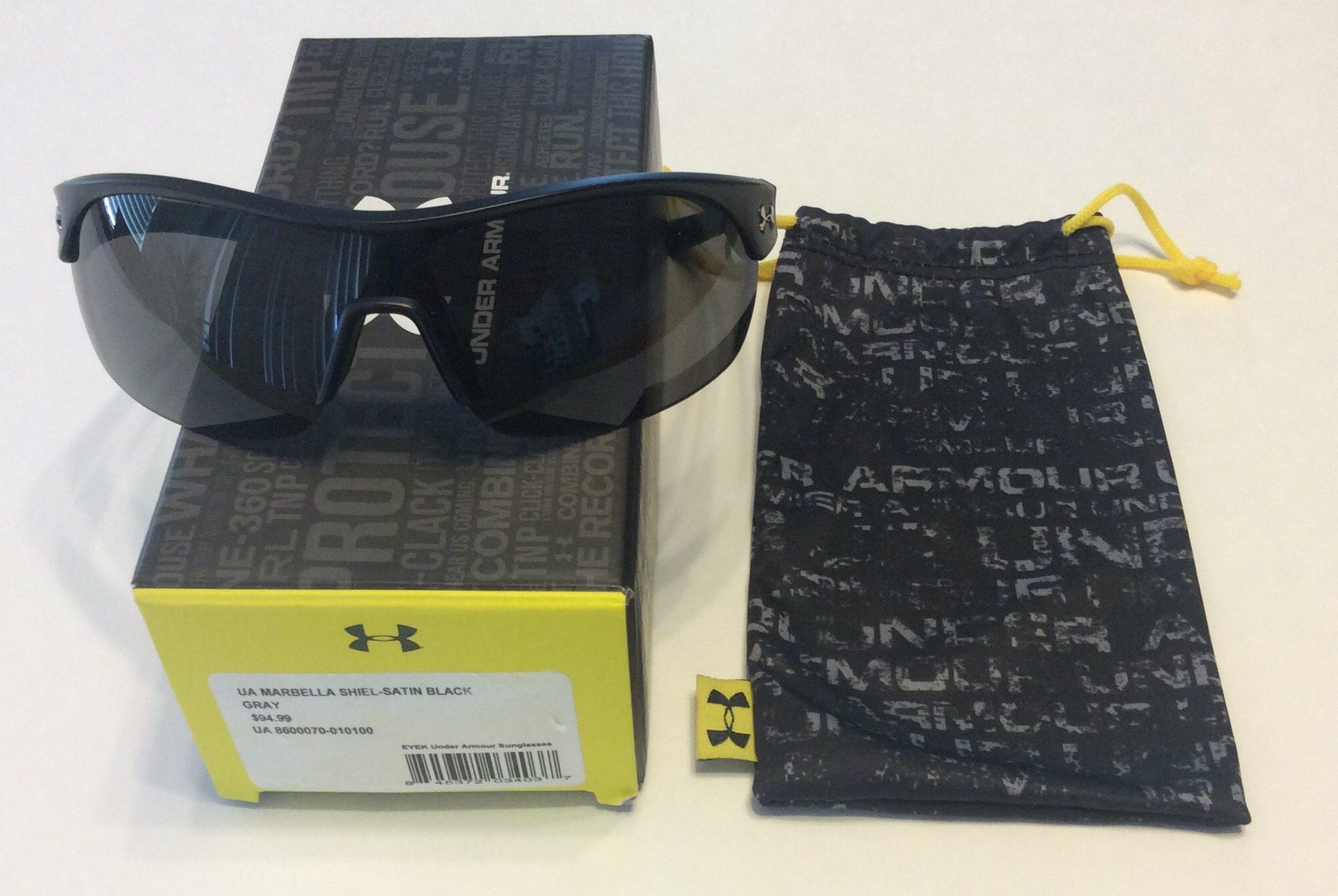 7a64f42ea3 Under Armour Impulse Polarized Sunglasses Black