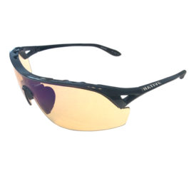 Native Eyewear Nova Sunglasses - Iron Black Frame - Amber Sportflex Lens
