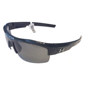 Under Armour Igniter Sunglasses - Shiny Black Frame - Gray Lens