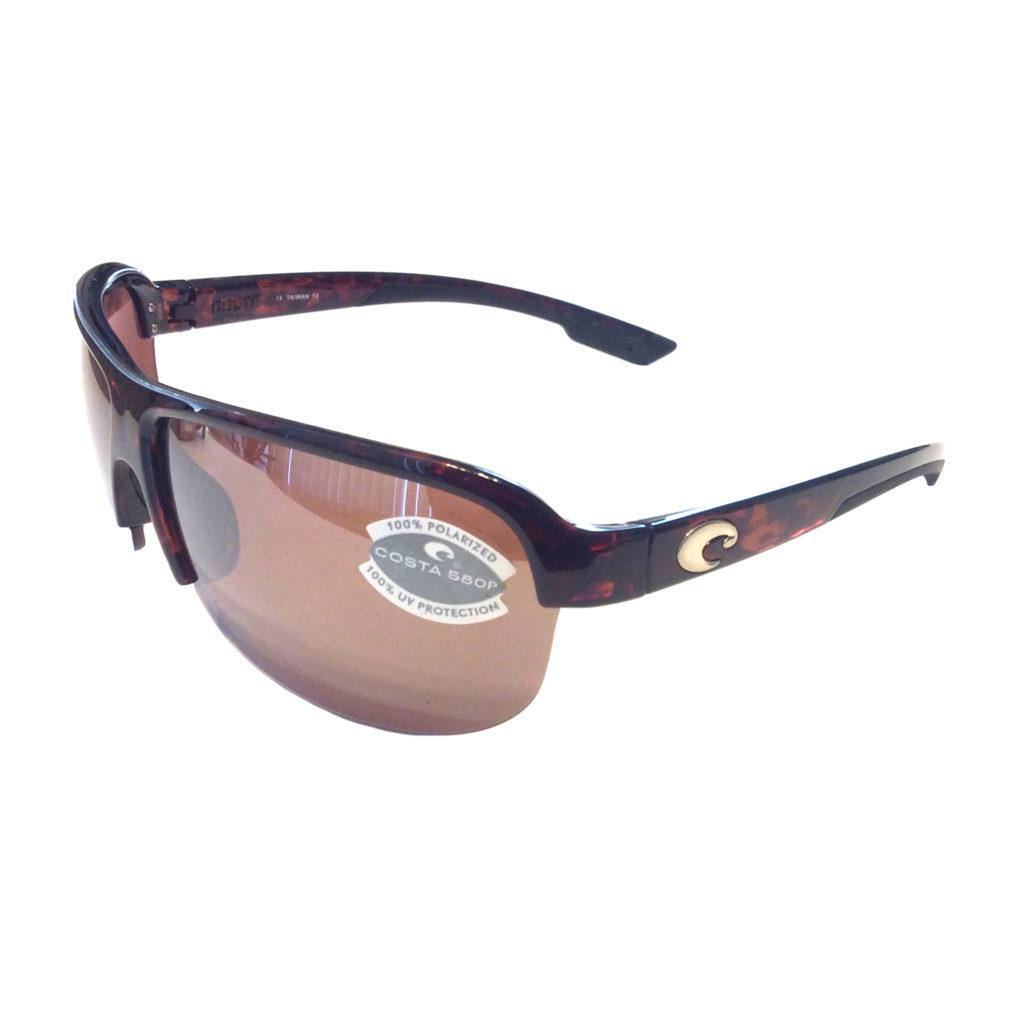 Costa Del Mar Coba Sunglasses – Brown Tortoise Frame ...