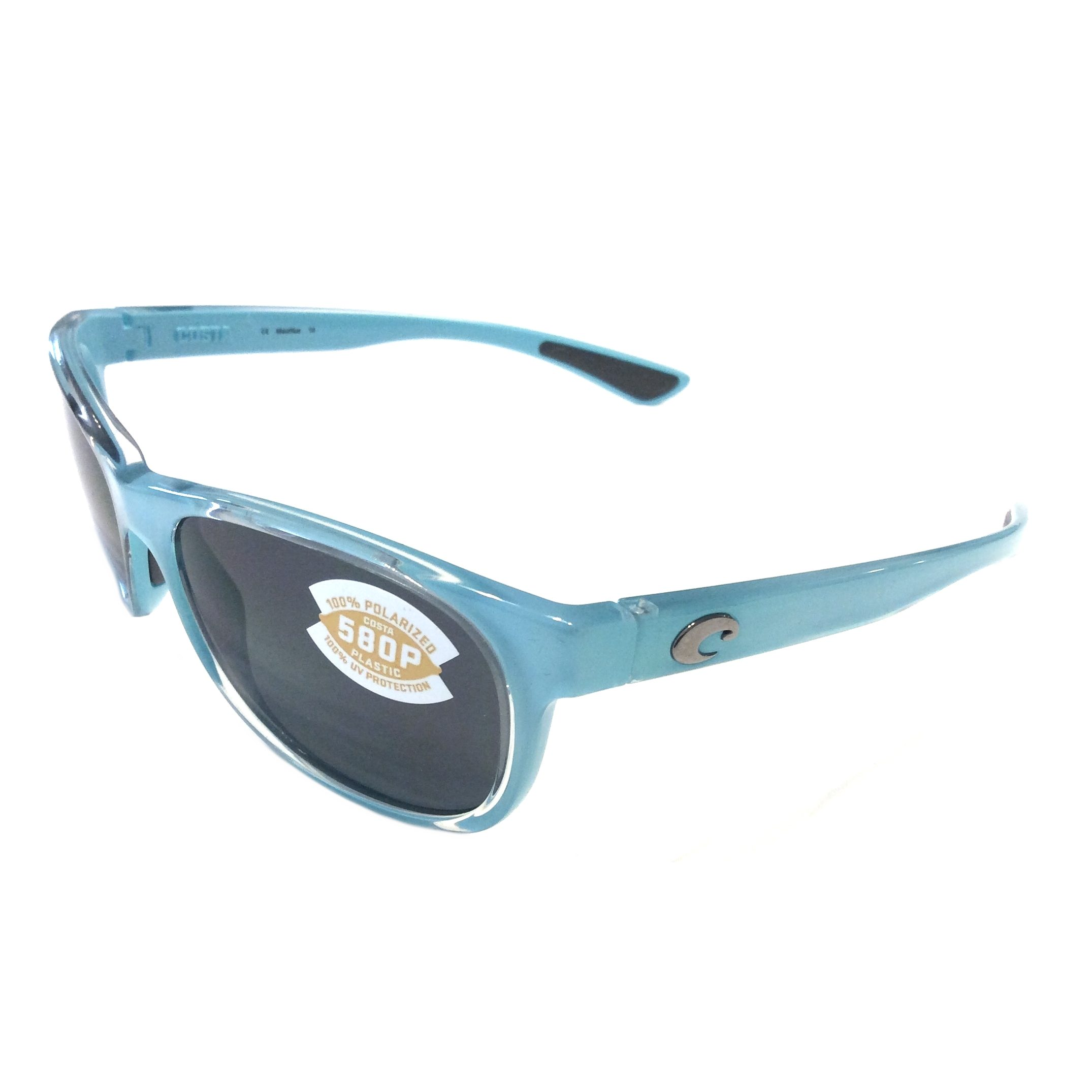 Costa Del Mar Prop Sunglasses - Ocean Blue - Gray 580P Polarized