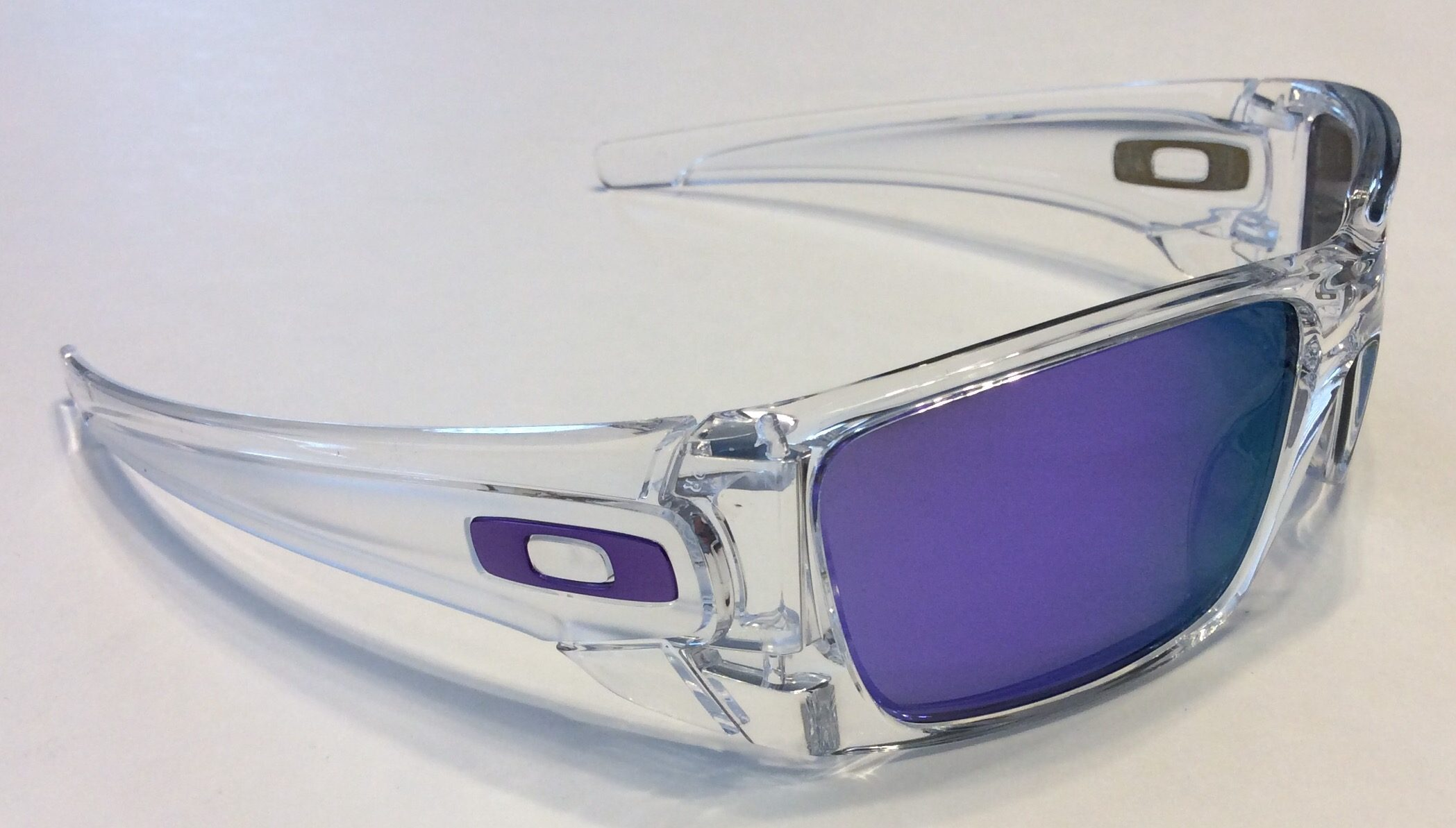 Oakley Clear Frame With Purple Lens « Heritage Malta