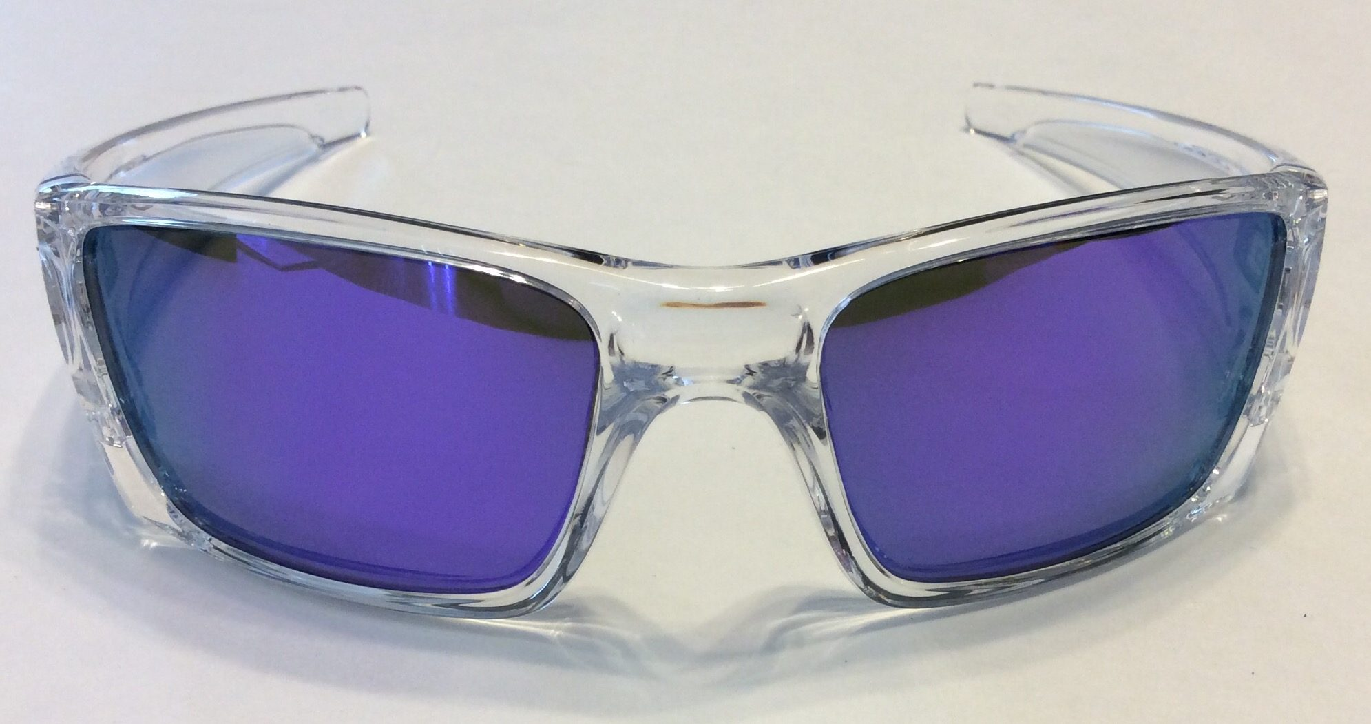 fc833ab4f5e Oakley Fuel Cell Sunglasses - Polished Clear - Violet Iridium - OO9096-04