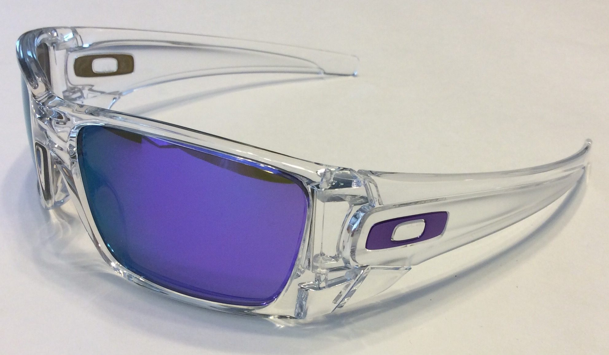 2d24536776 ... new arrivals oakley fuel cell sunglasses polished clear violet iridium  oo9096 04 f345a 24d0d