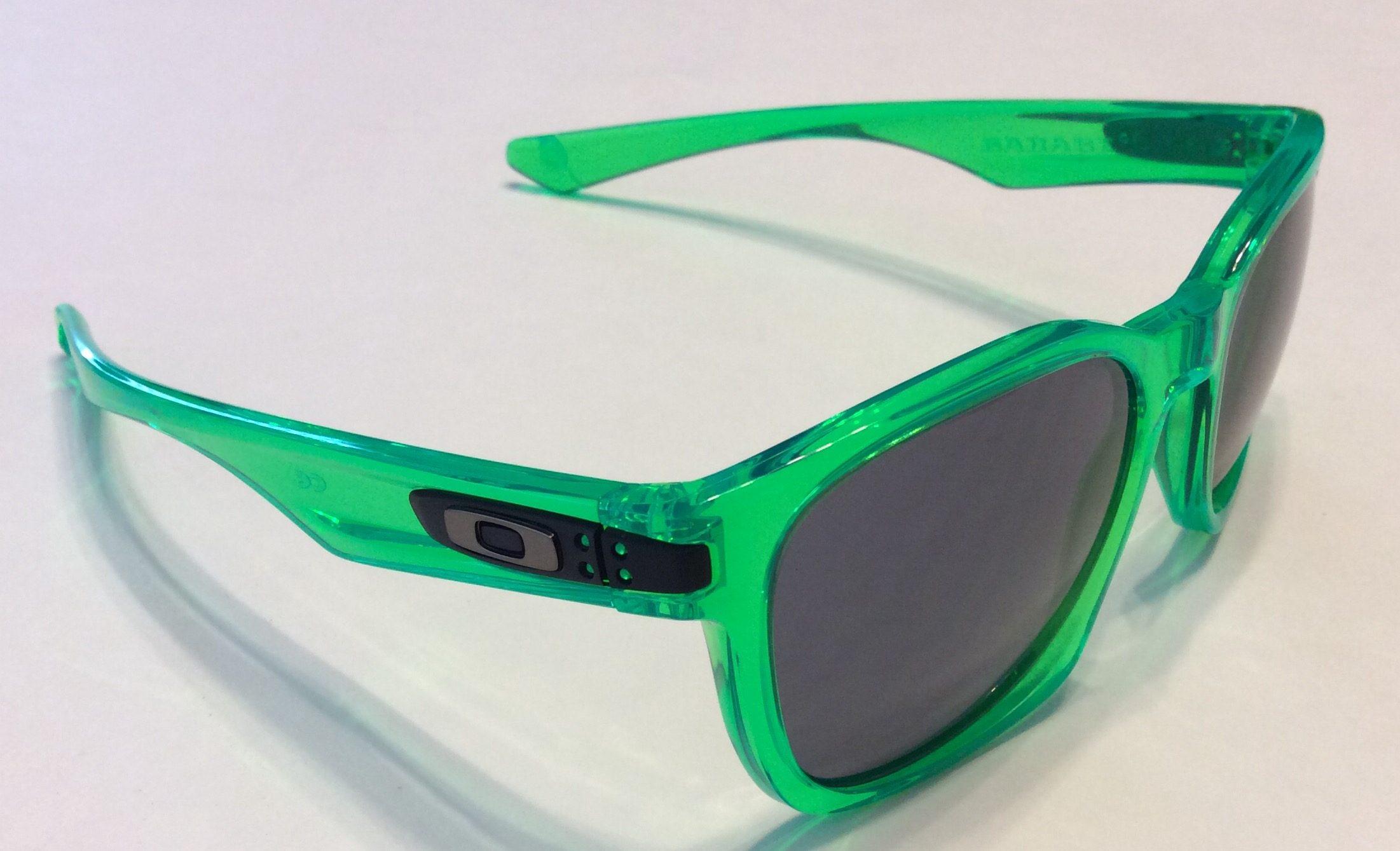 Oakley Garage Rock Sunglasses MPH - Anti Freeze Green - Grey - OO9175-38