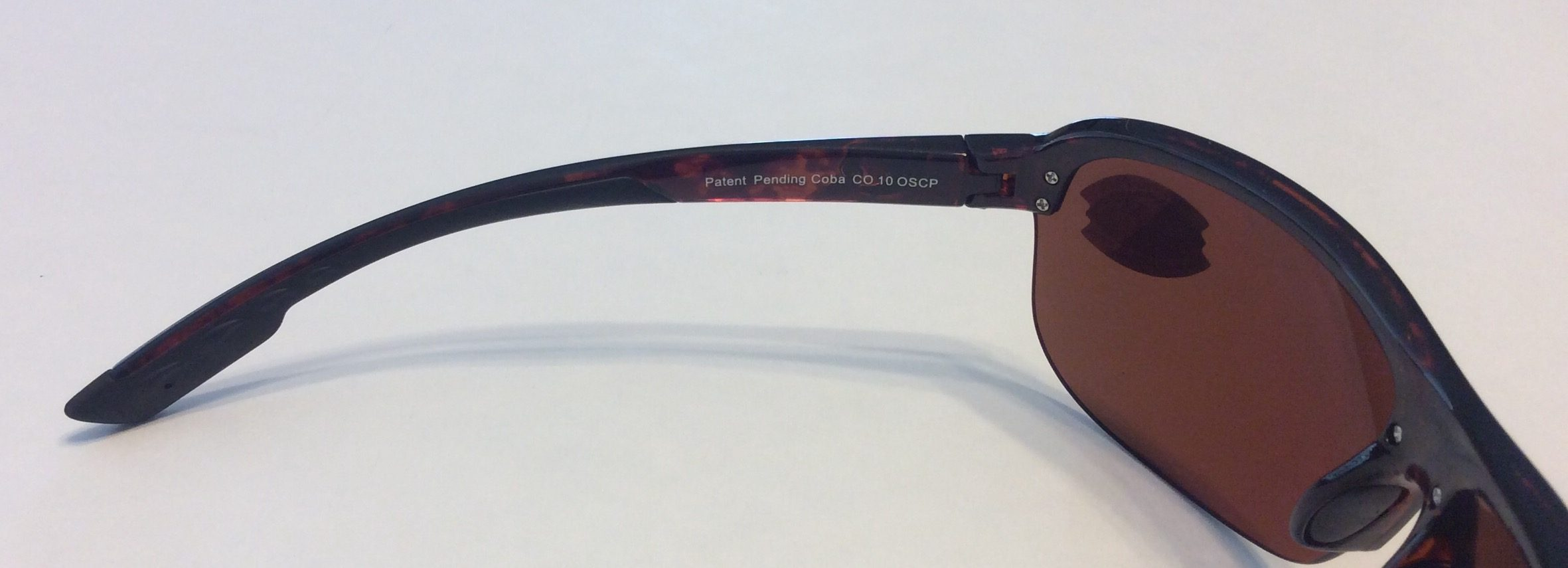 263649c8628 Costa Del Mar Coba Sunglasses – Brown Tortoise Frame – Polarized 580P  Silver Mirror Lens .