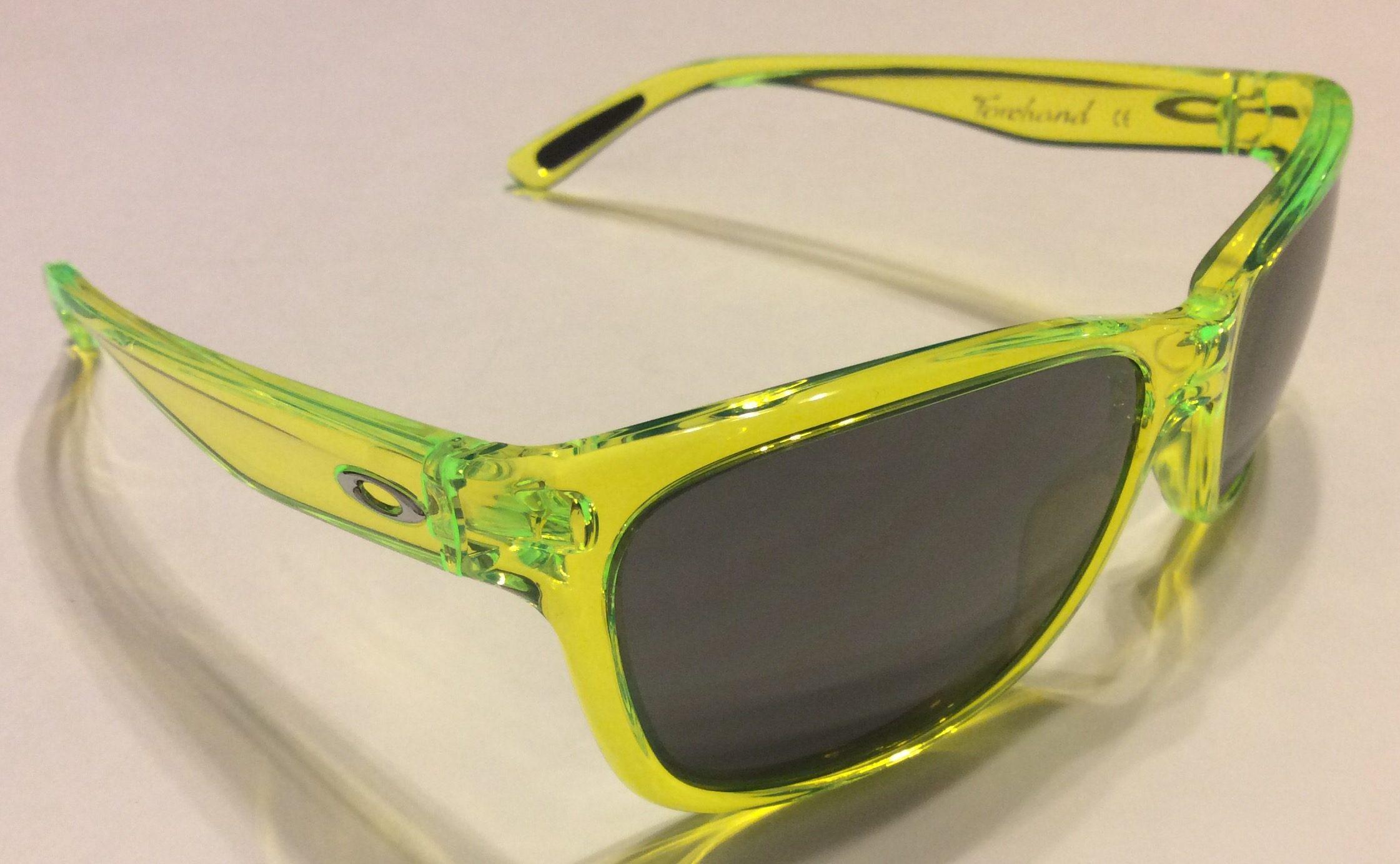 Oakley Forehand Sunglasses - Neon Yellow - Black Iridium OO9179-13