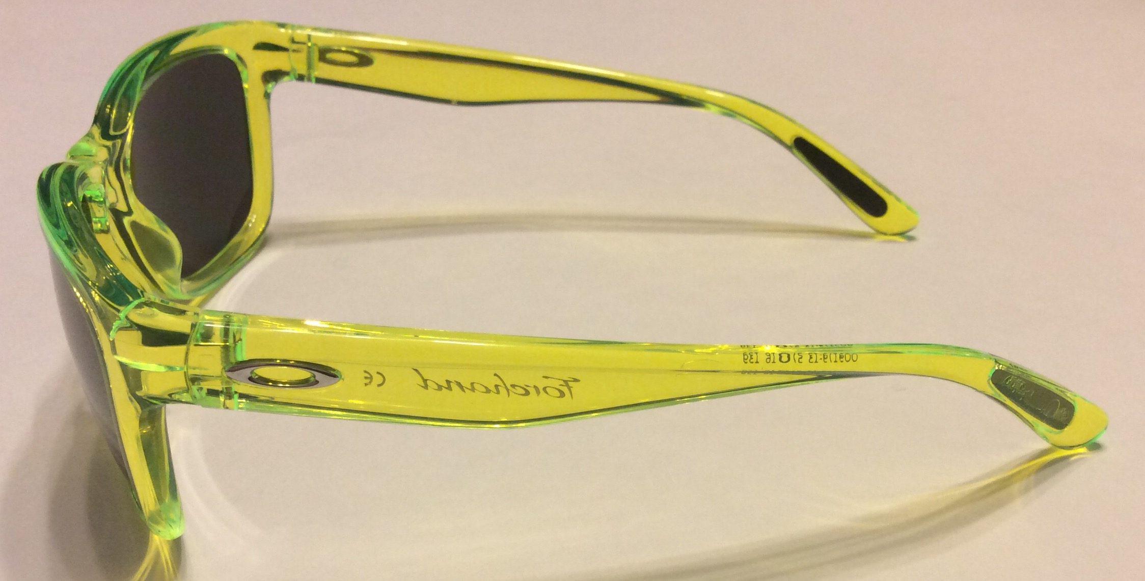 08676cca94 Oakley Forehand Sunglasses – Neon Yellow Frame – Black Iridium Lens ...
