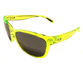 Oakley Forehand Sunglasses   - Neon Yellow Frame - Black Iridium Lens OO9179-13