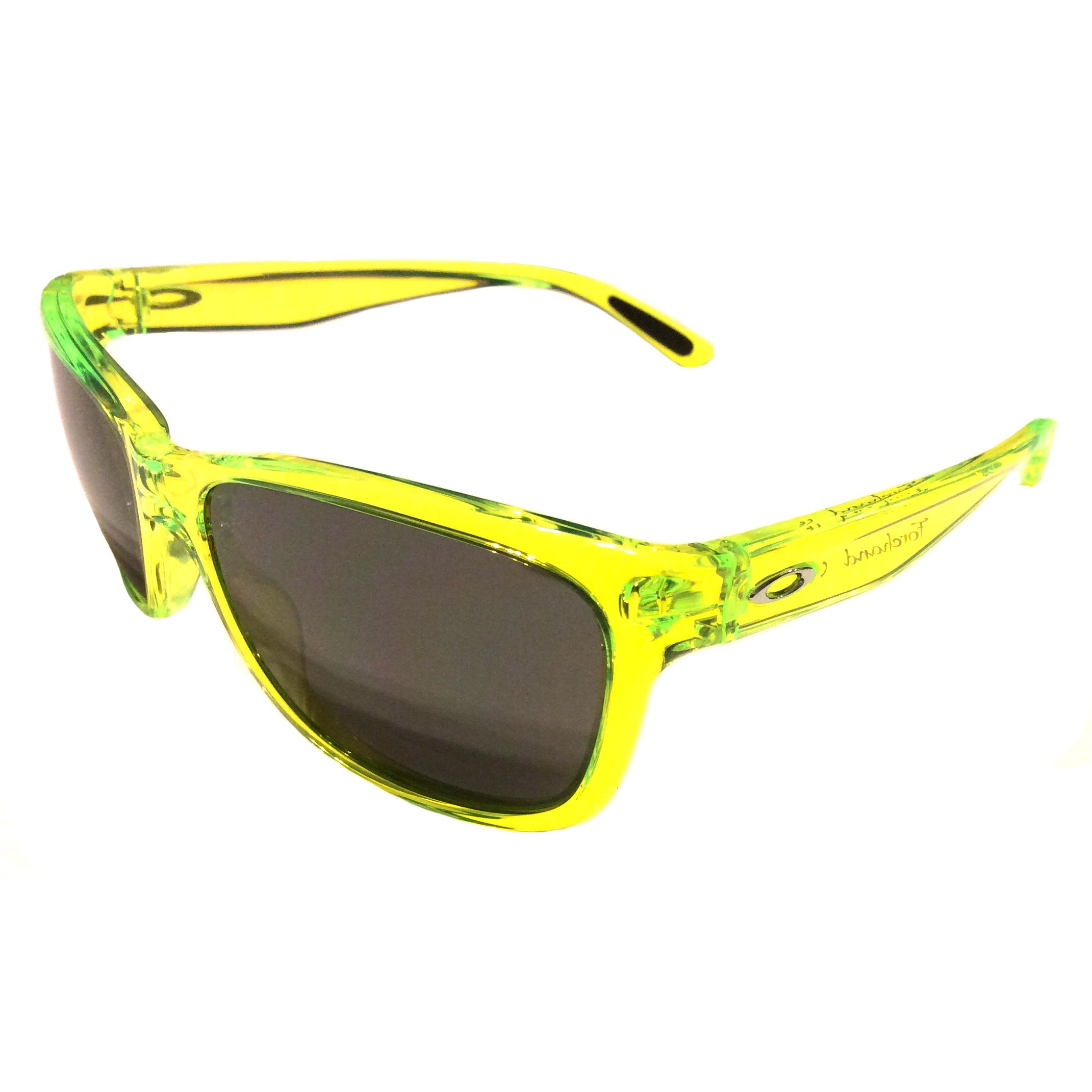 Yellow Frame Sunglasses  oakley forehand sunglasses neon yellow frame black iridium