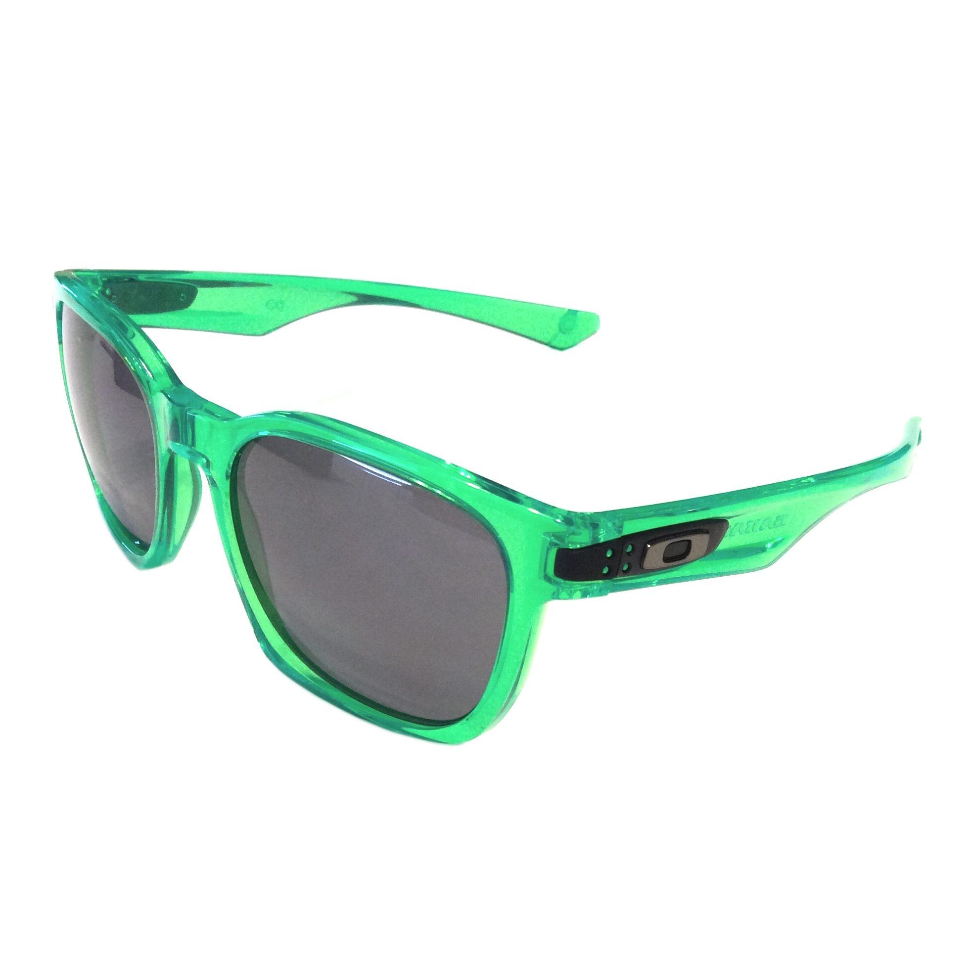oakley sunglasses green nqcz  Oakley Garage Rock MPH Sunglasses  Anti Freeze Green Frame  Gray Lens   OO9175-38