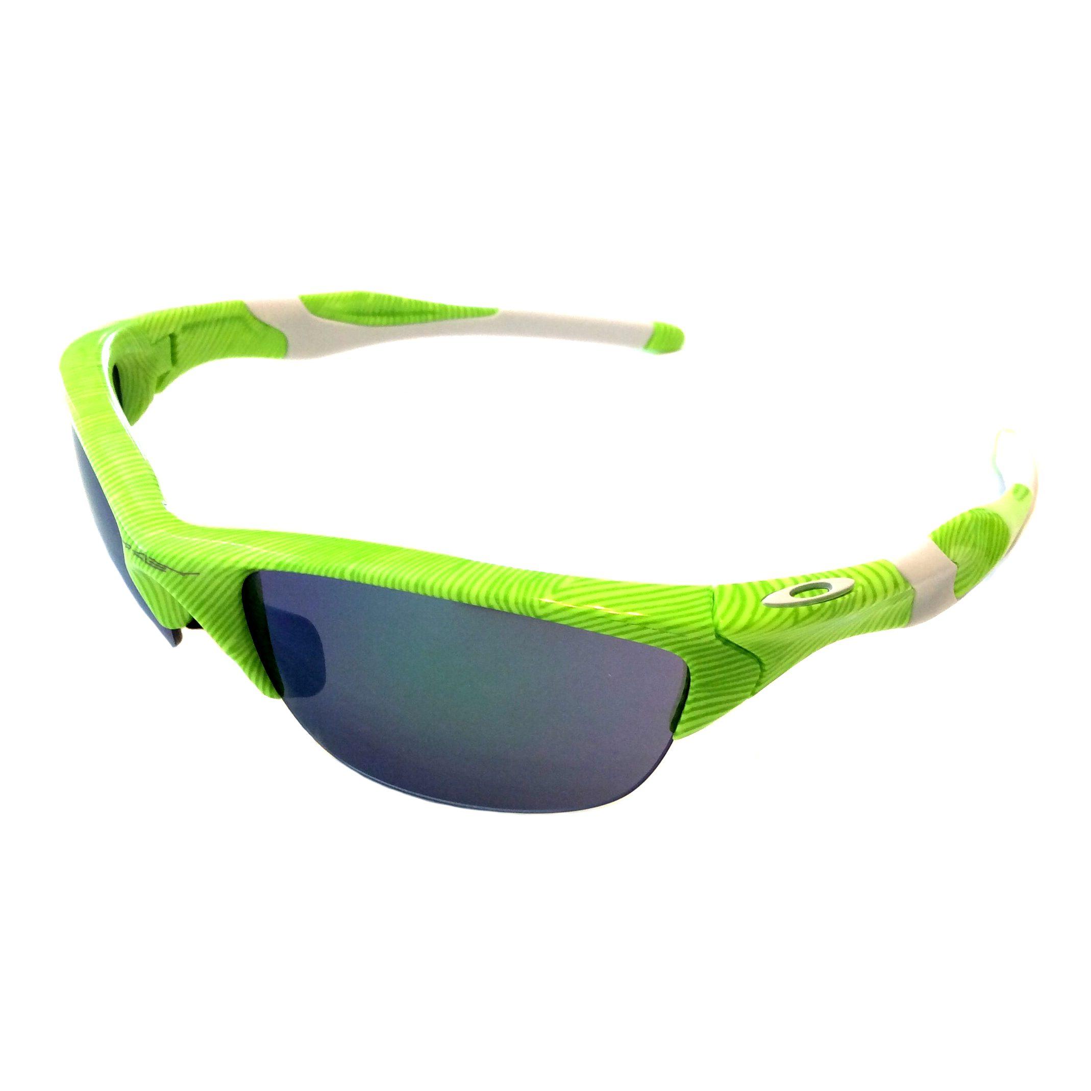 25aa50cdef Oakley Half Jacket 2.0 Sunglasses - Fingerprint Retina Burn Green Jade  Iridium (A)