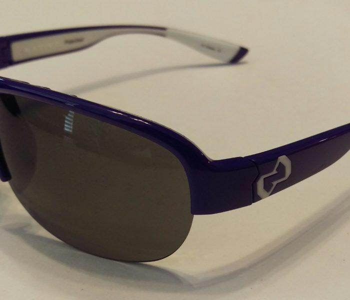 Native Zodiac Sunglasses + Xtra Lens - Ultraviolet Purple POLARIZED N3 Gray
