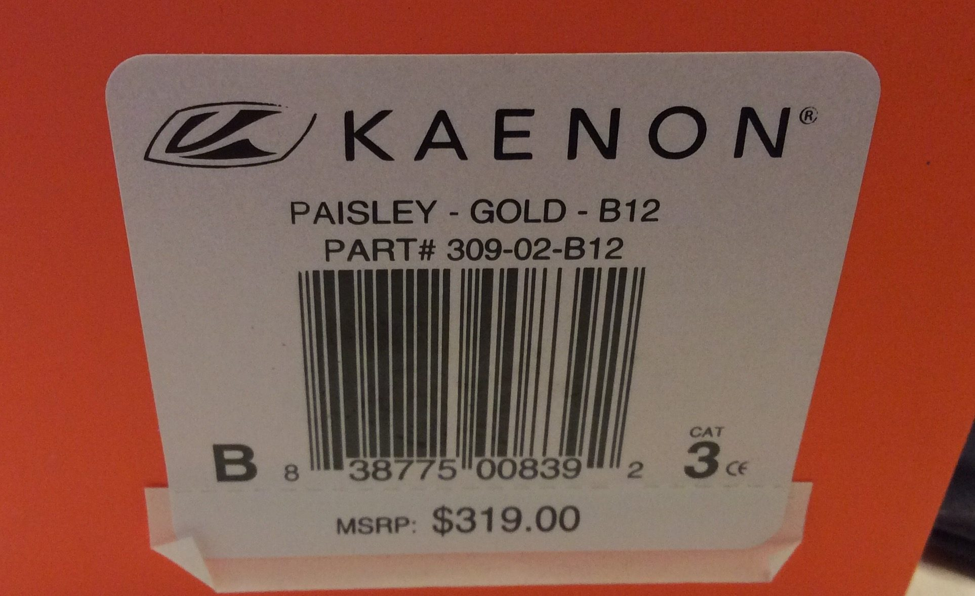 Kaenon Paisley Sunglasses Aviator - Gold - B12 Brown POLARIZED 309-02-B12