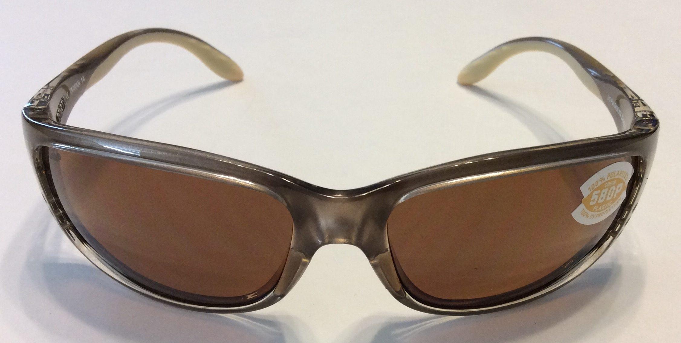 5ad97474cc Costa Del Mar Zane Sunglasses - Crystal Bronze - POLARIZED Amber 580P
