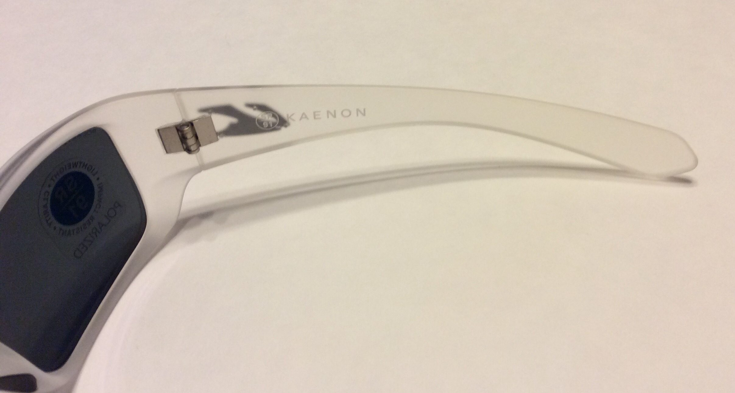 Kaenon Pintail Sunglasses - Frost Limited Edition POLARIZED Gray Mirror 029-16-G12M