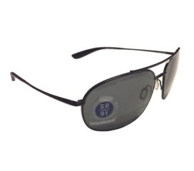 Kaenon Ballmer Aviator Sunglasses - Matte Black Frame - Gray Polarized G12 Lens