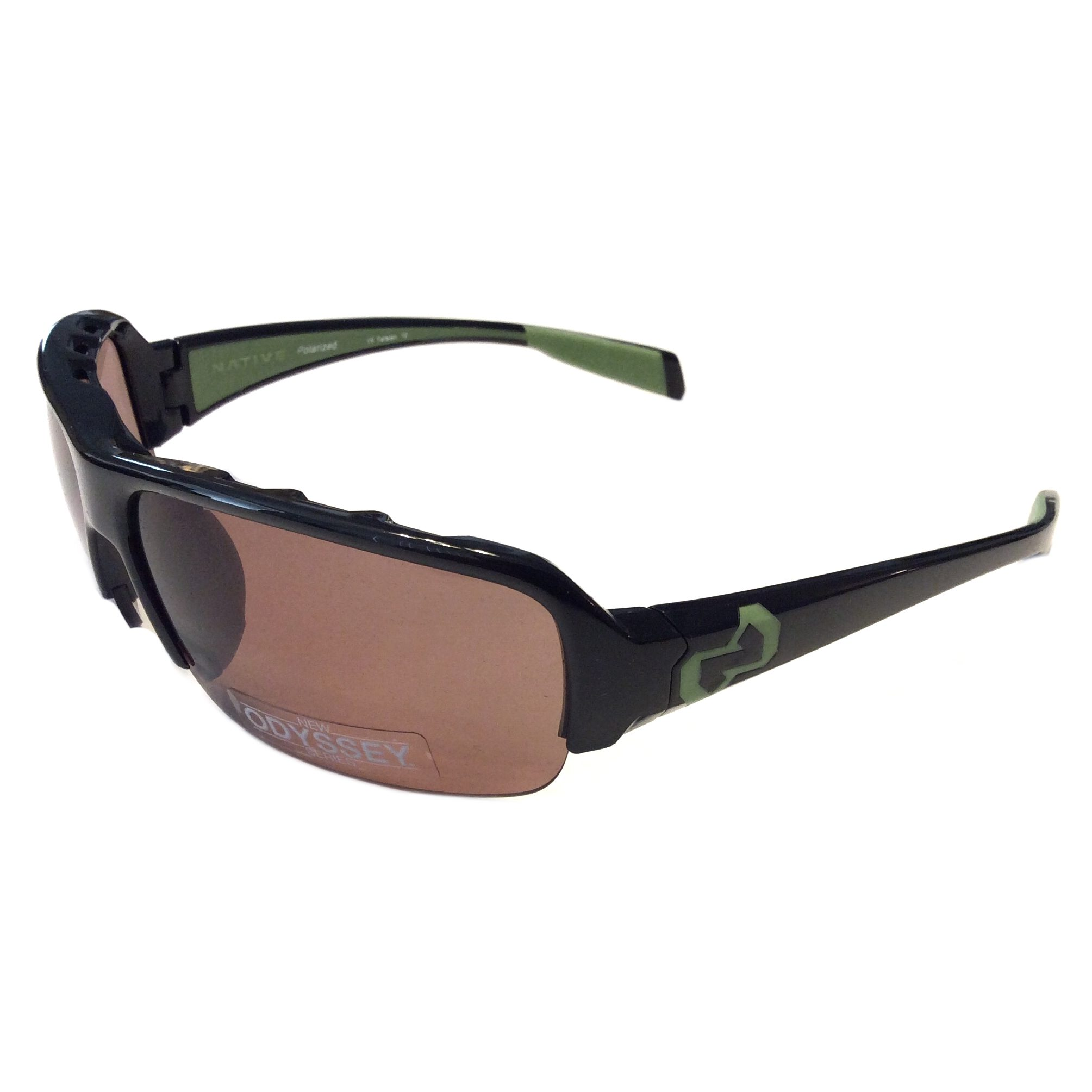 Native Itso Sunglasses  native eyewear itso sunglasses iron black frame polarized n3