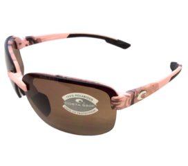 Costa Del Mar Austin Sunglasses - Pink Realtree Camo Frame - Polarized Amber 580P Lens