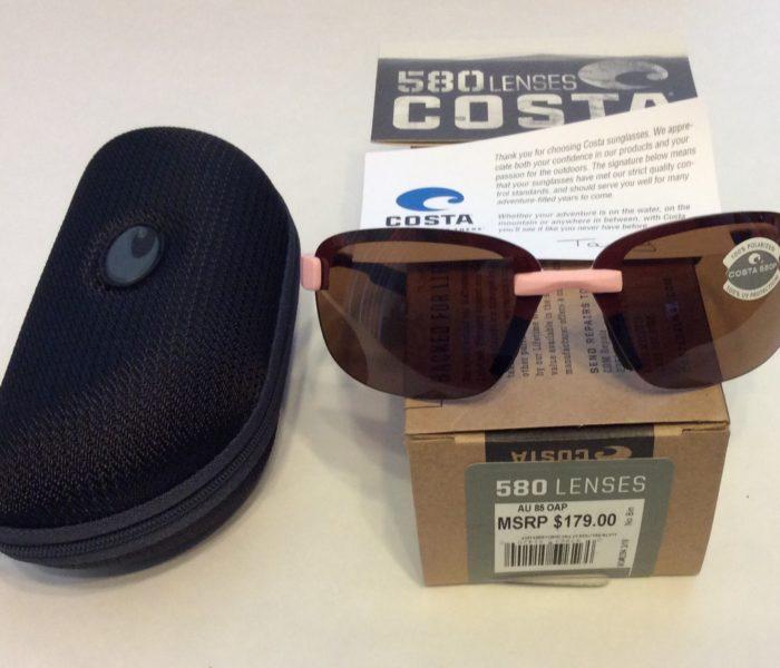 Costa Del Mar Austin Sunglasses Pink Realtree Camo AP POLARIZED Amber 580P