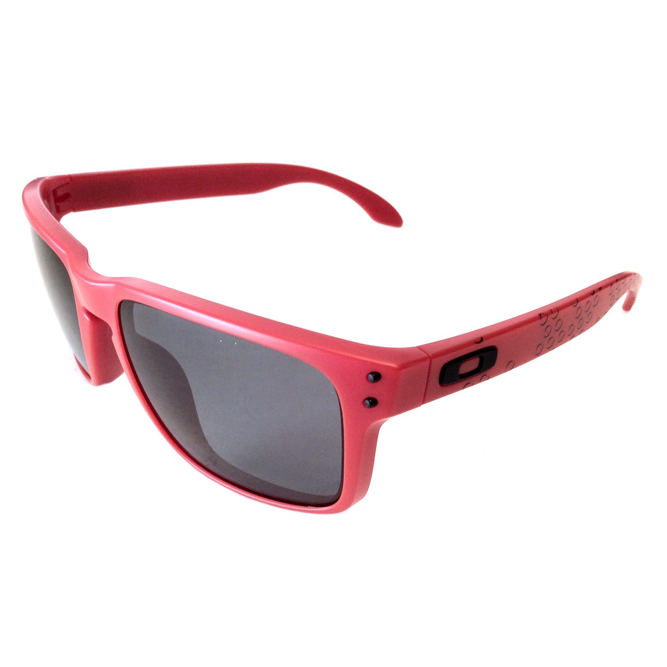 97e329100e779 Oakley Holbrook Sunglasses - B1B Collection Matte Red - Grey - OO9102-83