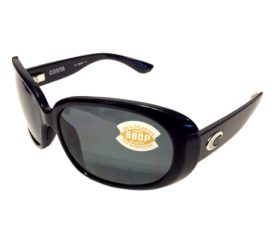 Costa Del Mar Hammock Sunglasses - Black Frame - Polarized Gray 580P Lens