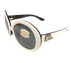 Costa Del Mar Isla Sunglasses - White Topaz Frame - Polarized Gray 580P Lens