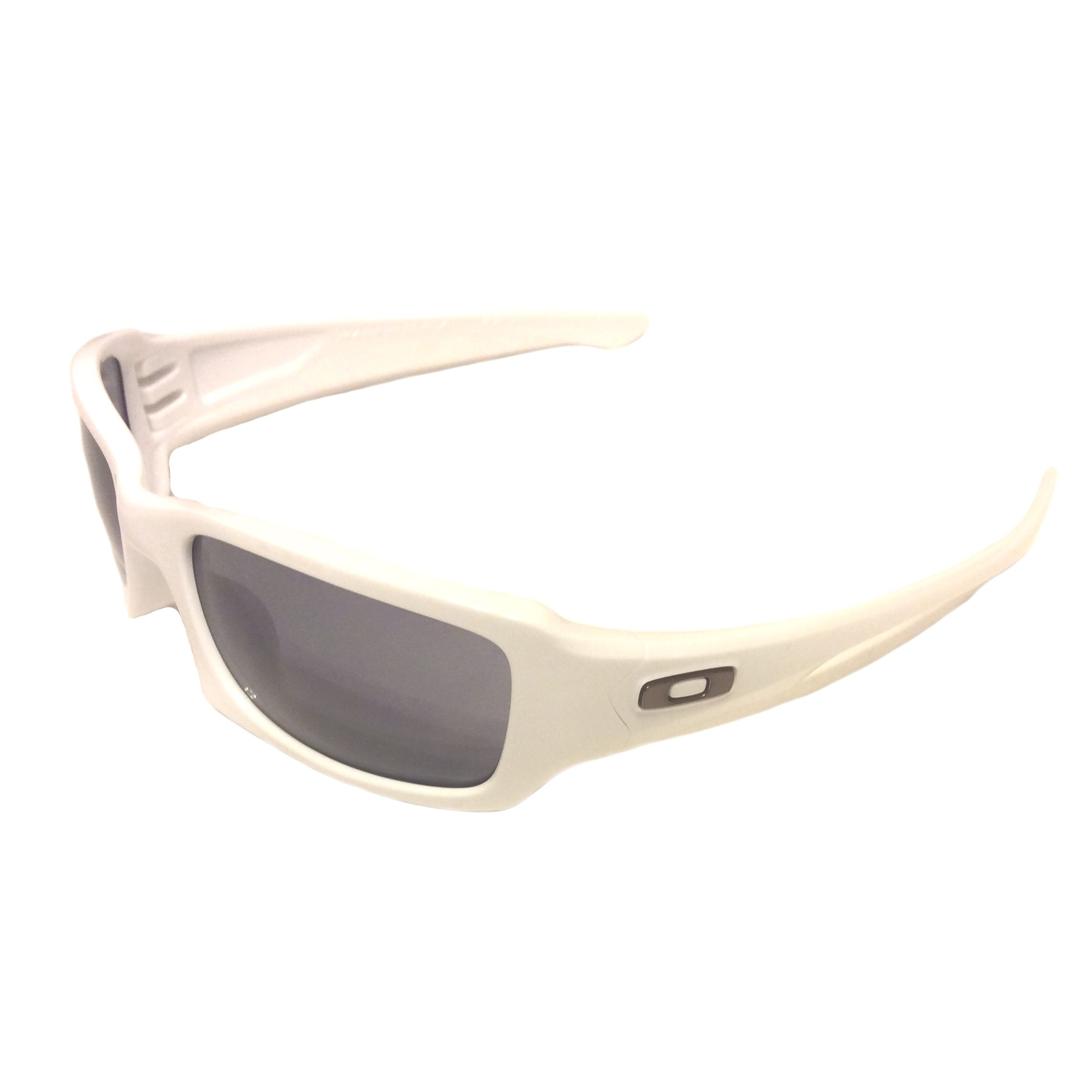oakley fives squared sunglasses asian fit  oakley fives squared sunglasses (a) mph asian polished white gray oo9214 08