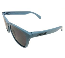 Oakley Frogskins Sunglasses MPH - Polished Blue Frame - Grey Lens - OO9013-A2