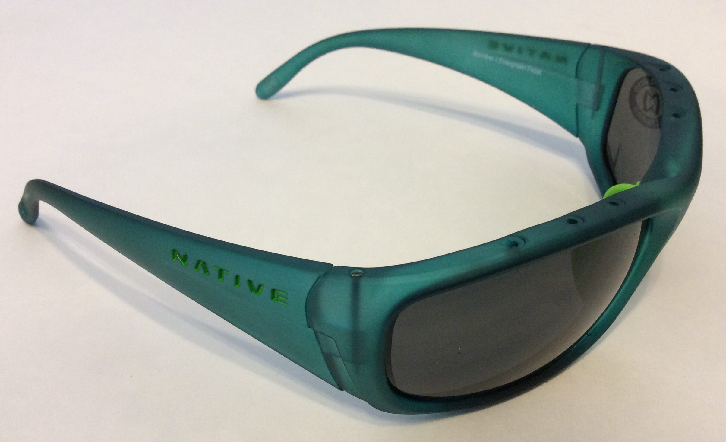 a9799f2343b Native Eyewear Bomber Sunglasses – Frost Green Frame – Polarized Gray Lens