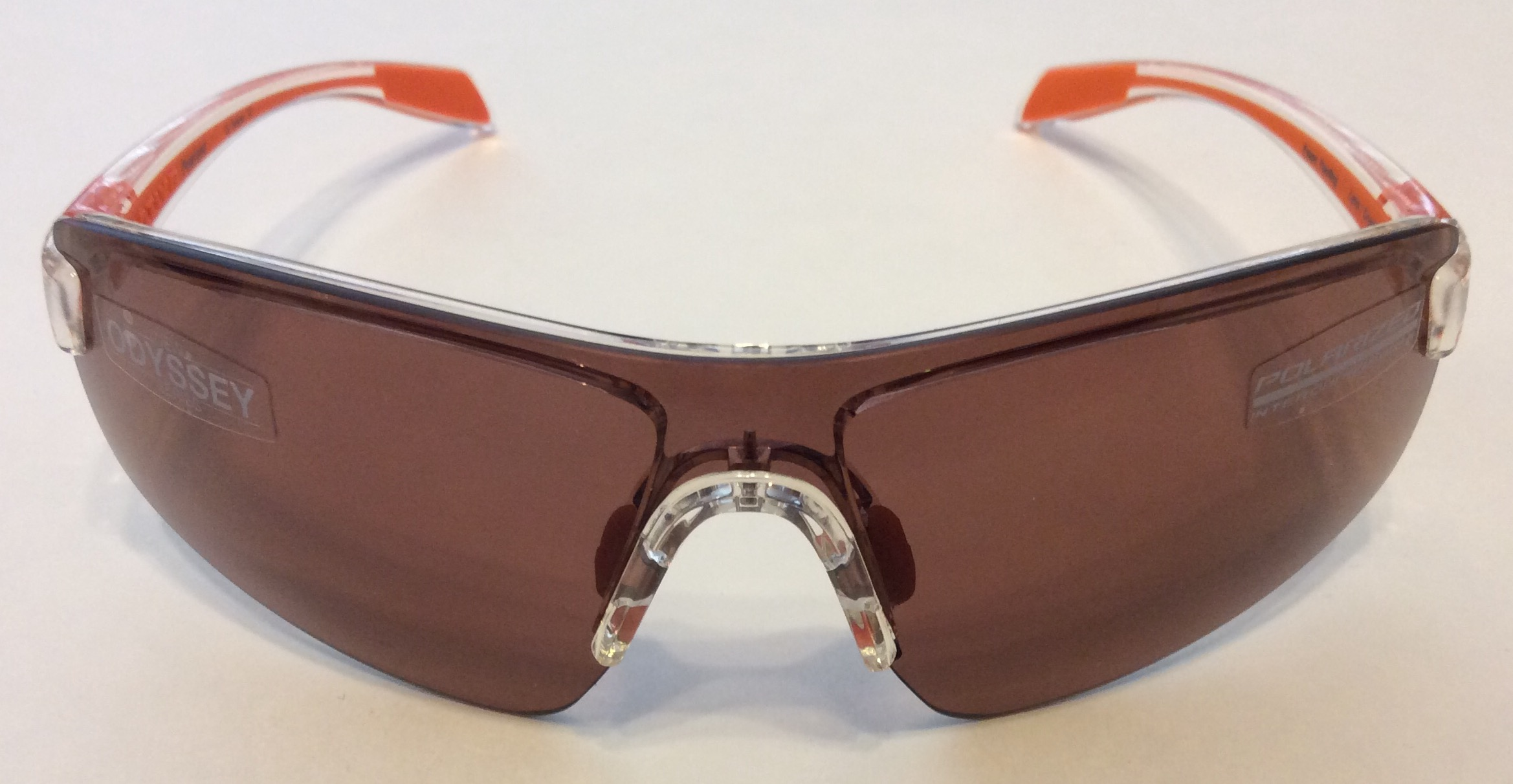 Native Eyewear Lynx Sunglasses Crystal Orange