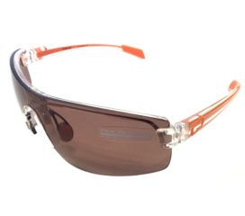 Native Eyewear Lynx Sunglasses - Crystal Orange Frame - Polarized Copper XTRA Lens Set