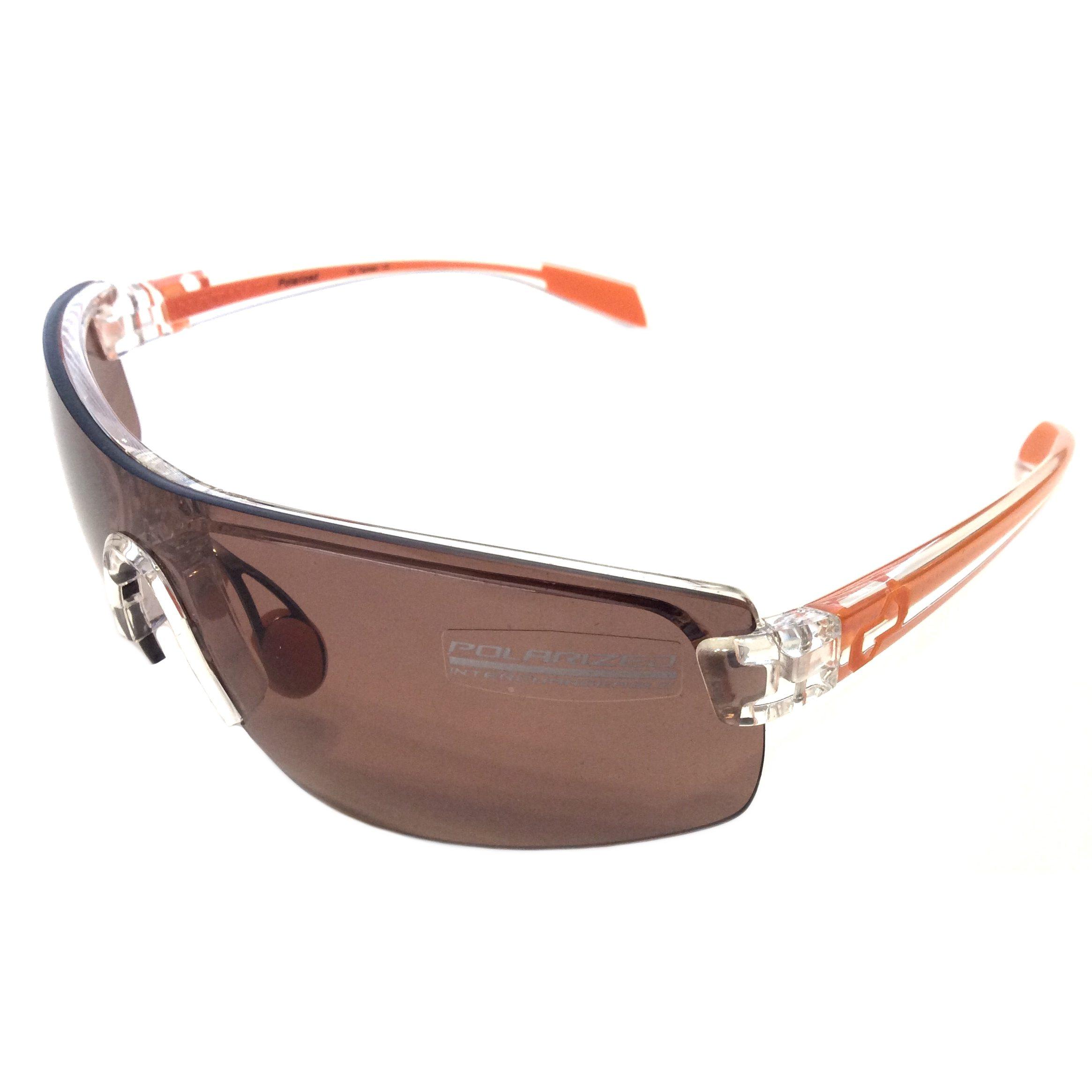 Native Eyewear Lynx Sunglasses - Crystal Orange POLARIZED Copper XTRA Lens