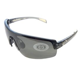 Native Eyewear Lynx Sunglasses - Smoke Black Frame - Polarized Silver Reflex Lens
