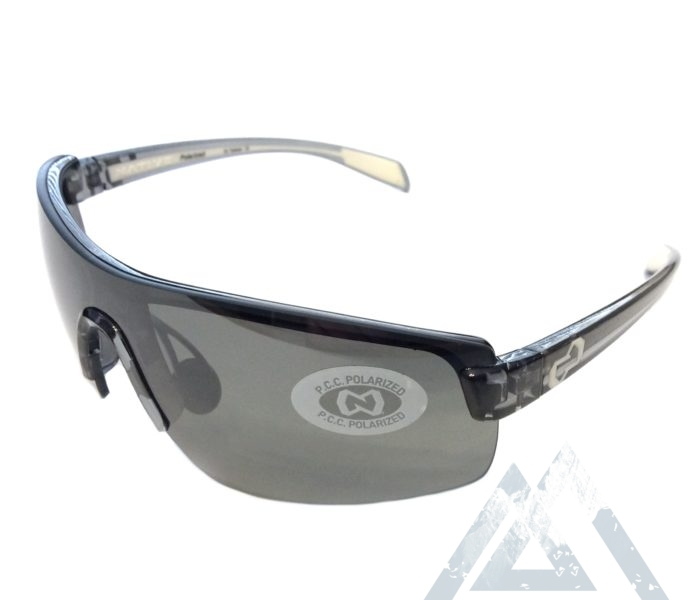 Native Eyewear Lynx Sunglasses - Smoke Black POLARIZED Silver Reflex XTRA Lens