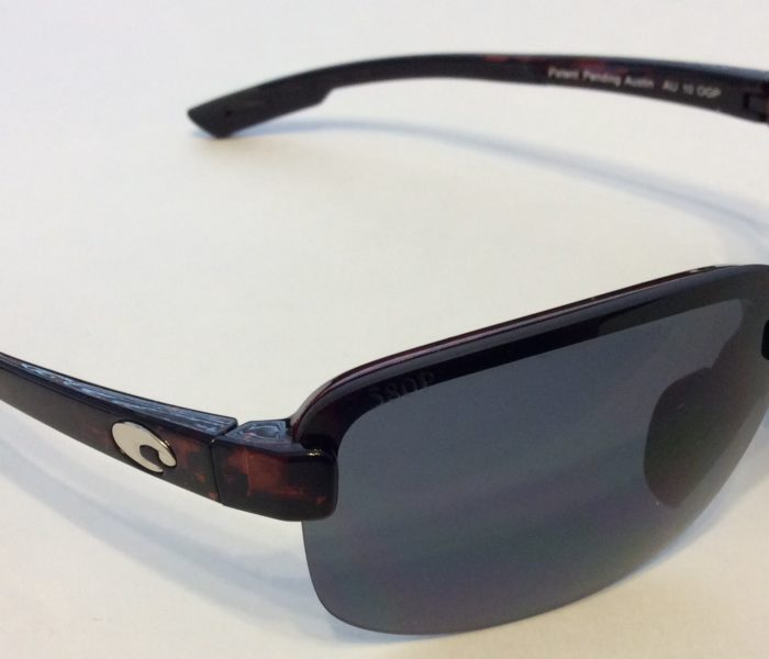 Costa Del Mar Austin Sunglasses - Tortoise - POLARIZED Gray 580P