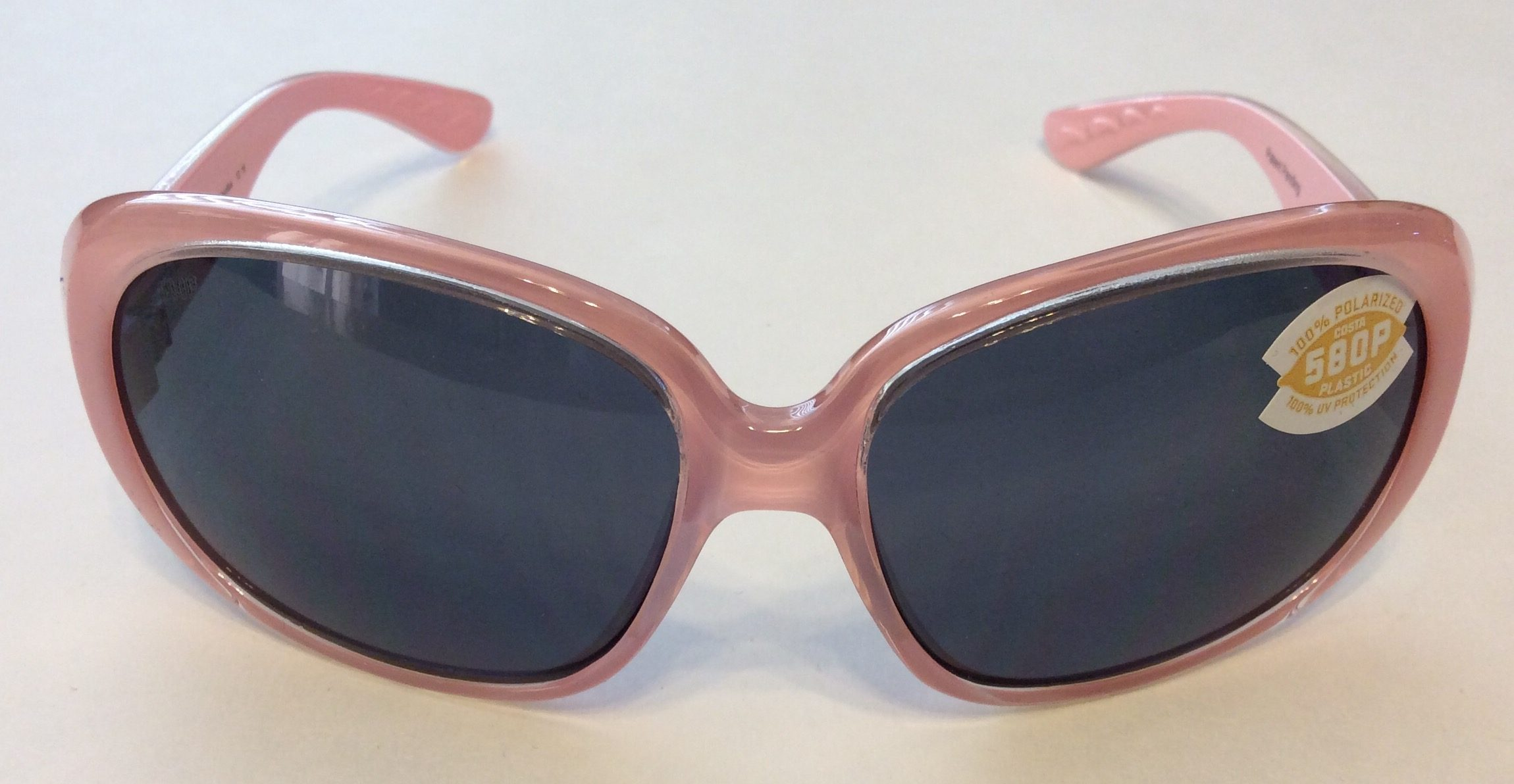 91d4bbc1698ce Costa Del Mar Hammock Sunglasses - Coral Pink POLARIZED Gray 580P