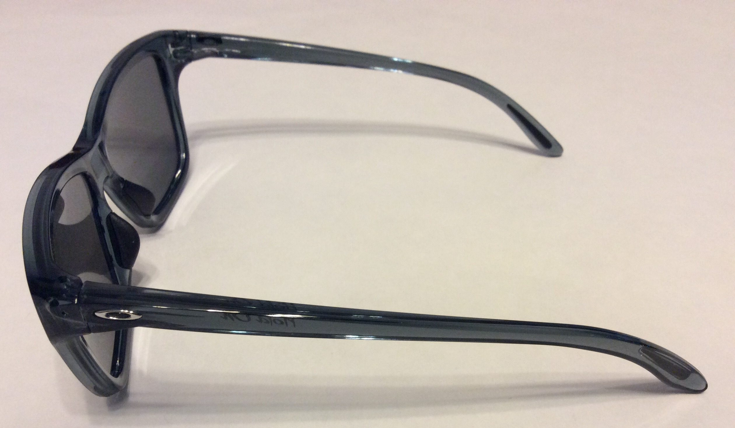 Oakley Hold On Sunglasses Crystal Black Frame Chrome