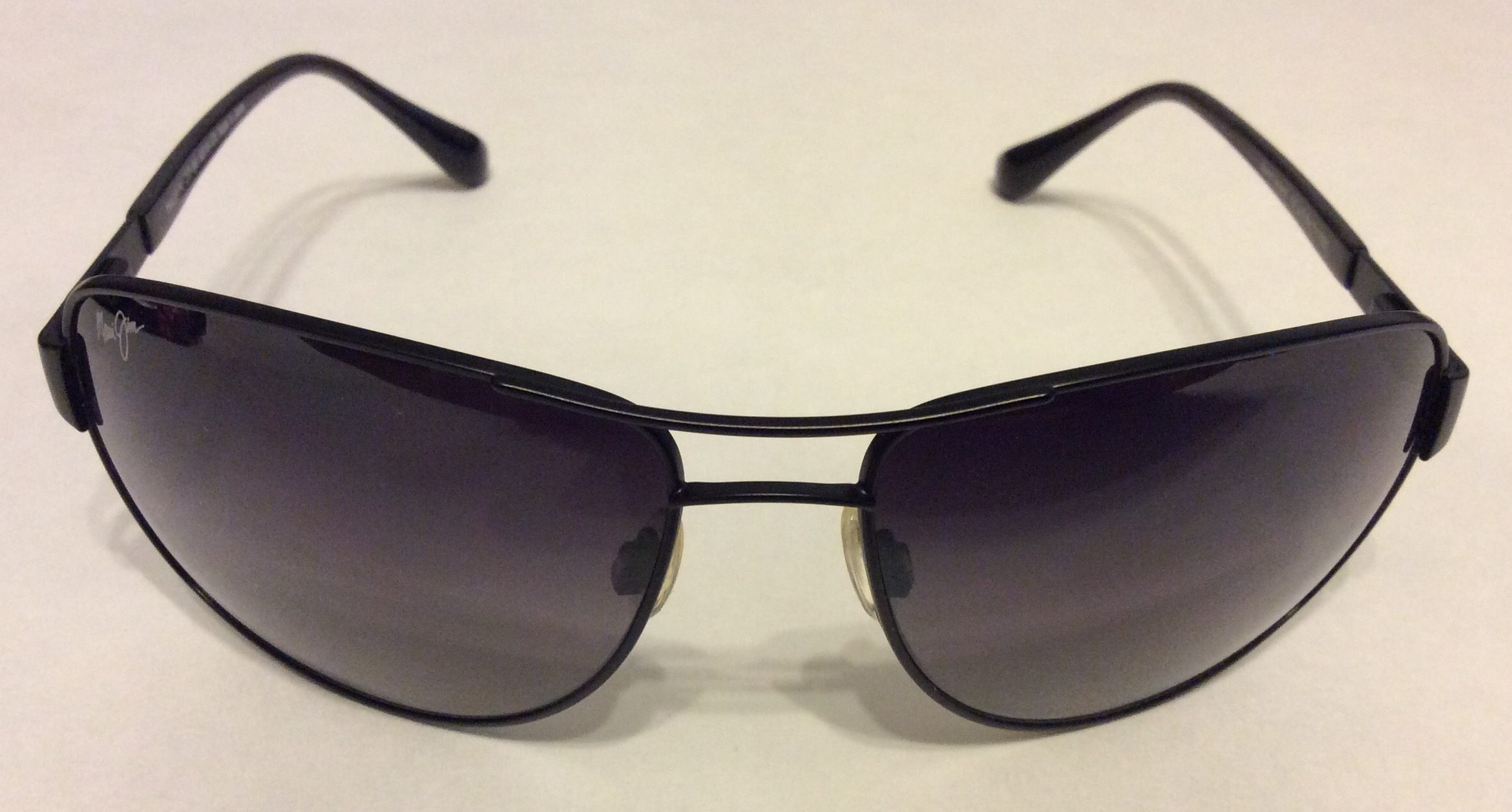 Maui Jim Sand Island Matte Black Nuetral Grey Gs253
